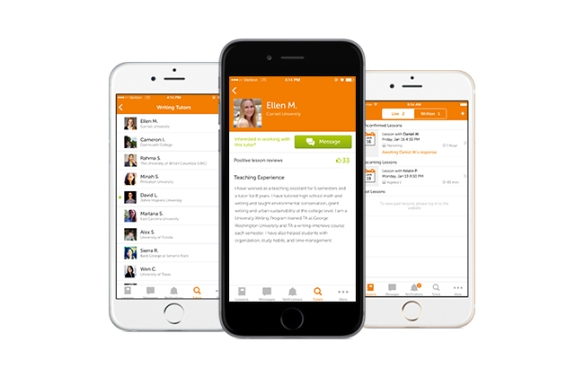 Chegg Tutors iOS App